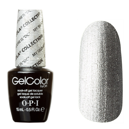 OPI GelColor, Гель-лак My Signature Is DC