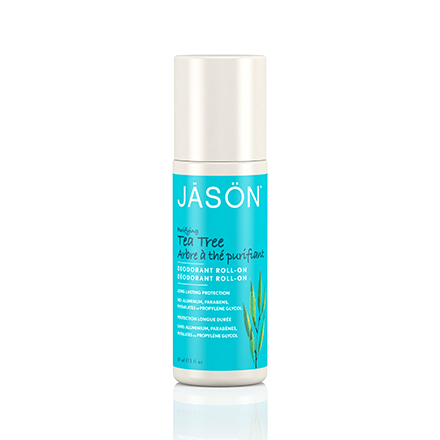 JASON, Шариковый дезодорант Tea Tree Oil, 89 мл