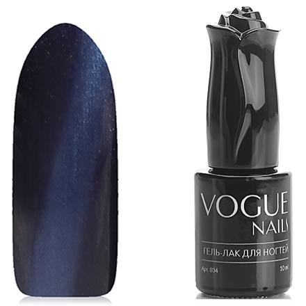 Vogue Nails, Гель-лак Кошачий глаз, Королевский сапфир vogue nails гель лак перламутровый фиолетовый блик