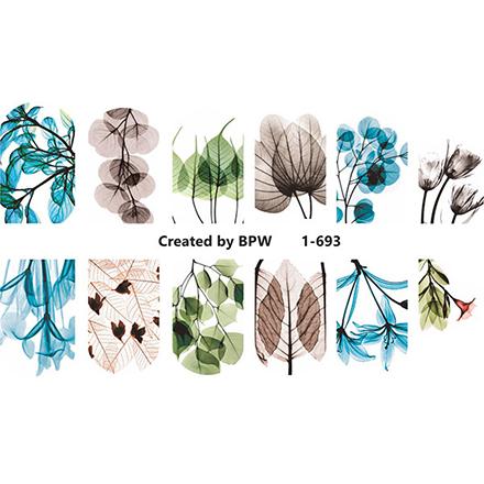 Купить BPW.Style, Слайдер-дизайн «Цветы» №1-693