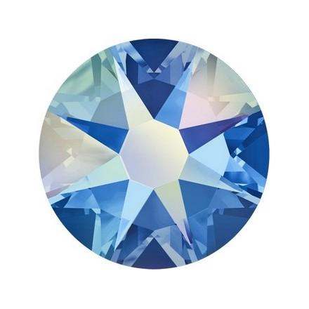 Кристаллы Swarovski, Sapphire Aurore Boreale 1,8 мм (30 шт)