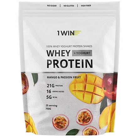 1WIN, Протеин Whey Yoghurt «Манго и маракуйя», 750 г