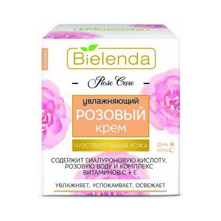 Купить Bielenda, Крем для лица Rose Care, 50 мл