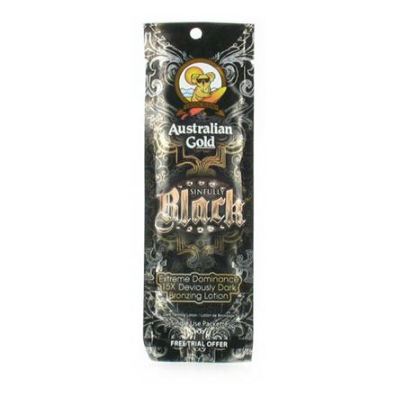 Australian Gold, Крем для загара Sinfully Black 15X,15 мл australian gold hardcore black 30x 250 мл