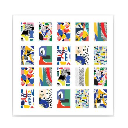 ONIQ, Слайдер-дизайн Transfer, Abstraction №1