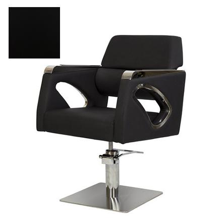 Купить Мэдисон, Кресло парикмахерское «МД-311» гидравлическое, хромированное, черное