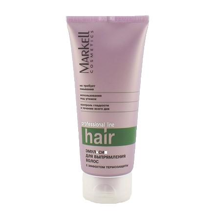 Markell, Эмульсия для выпрямления волос Professional, 100 г