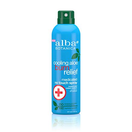 Alba Botanica, Спрей Cooling Aloe Burn Relief, 171 мл