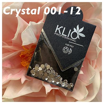 Klio Professional, Стразы Crystal №001, 3 мм