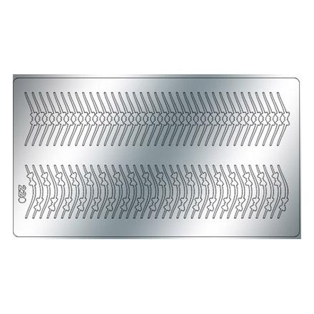 Купить Freedecor, Металлизированные наклейки №220, серебро