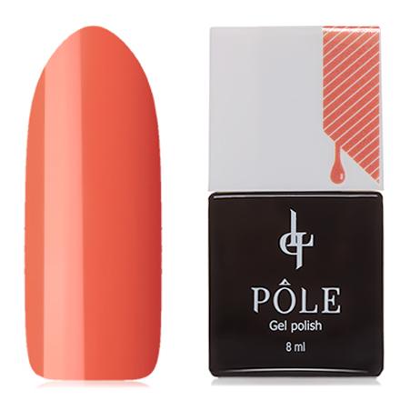 POLE, Гель-лак №233, Южный абрикосPOLE<br>Гель-лак (8 мл) насыщенный абрикосовый, без перламутра и блесток, плотный.<br><br>Цвет: Оранжевый<br>Объем мл: 8.00