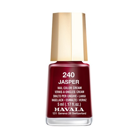 Купить Mavala, Лак для ногтей №240, Jasper, Красный