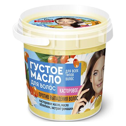 Купить Fito, Густое масло для волос Organic «Касторовое», 155 мл