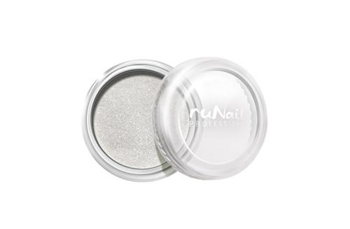 ruNail, дизайн для ногтей: пыль (белый)