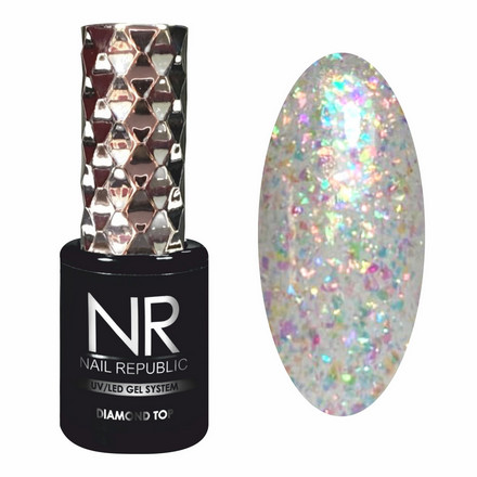 Купить Nail Republic, Топ Diamond №3, 10 мл