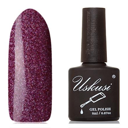 Купить Uskusi, Гель-лак №117, Фиолетовый