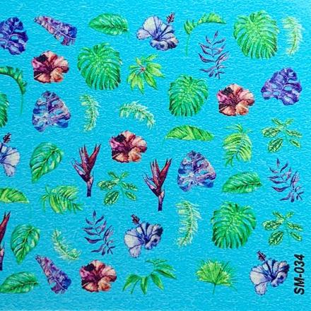 Anna Tkacheva, Cлайдер SM №34 «Цветы. Листья» фото