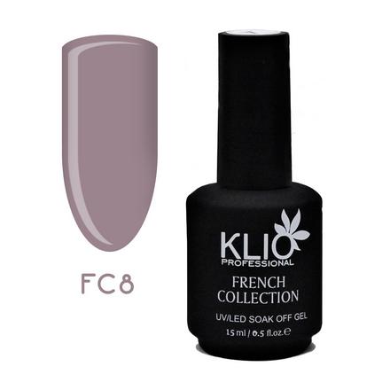 Klio Professional, Гель-лак French Collection №8