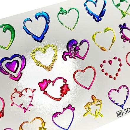 AnnaTkacheva,3D-слайдерCrystalHT№500 «Сердце. Любовь» фото