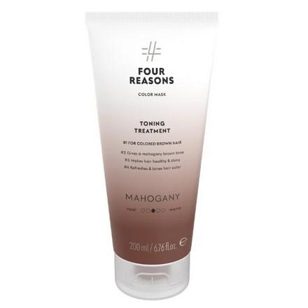 Купить Four Reasons, Маска для волос Toning Treatment Mahagony, 200 мл