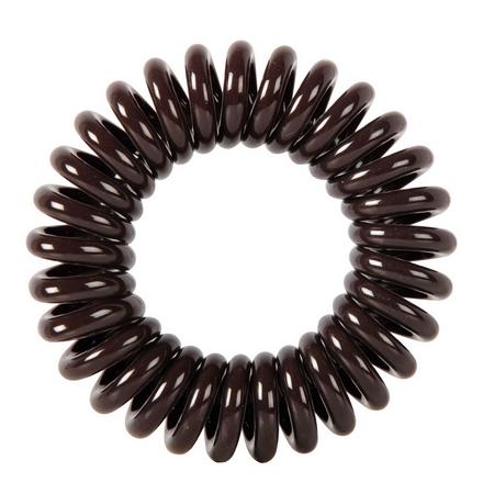 Купить Dewal, Резинки для волос «Пружинка», коричневые, 3 шт.