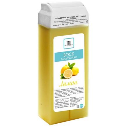 TNL, Воск для депиляции в картридже Лимон, 110 гр (TNL Professional)