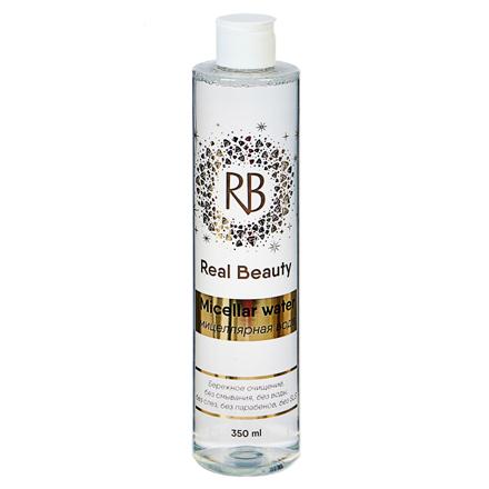 Real Beauty, Мицеллярная вода для снятия макияжа, 350 мл