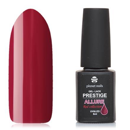 Planet Nails, Гель-лак Prestige Allure №657Planet Nails<br>Гель-лак (8 мл) гранатовый, без перламутра и блесток, плотный.