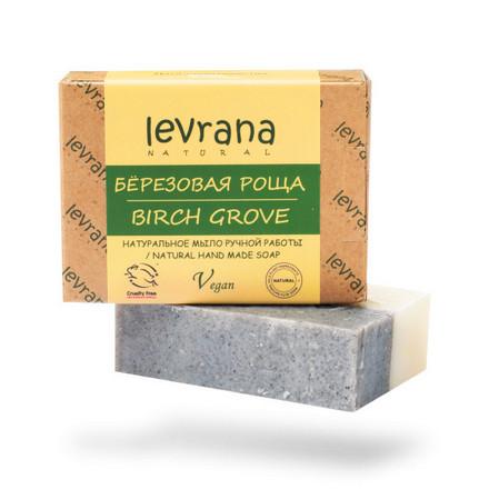 Купить Levrana, Натуральное мыло «Березовая роща», 100 г