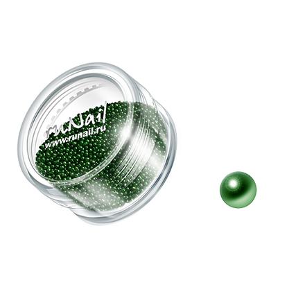 Купить RuNail, дизайн для ногтей: бульонки 0323 (зеленый)