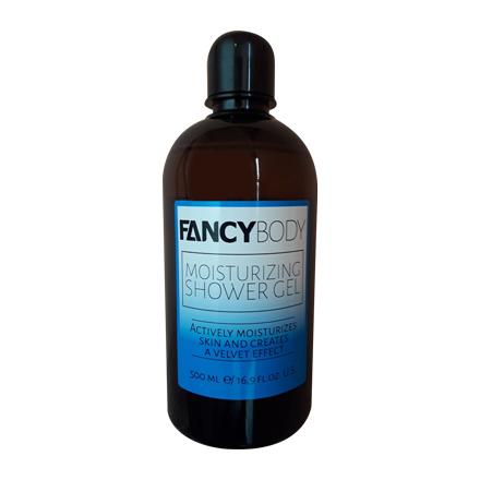 Fancy, Гель для душа Moisturizing, 500 млГели для душа<br>Гель для душа с маслами кокоса и карите увлажняет кожу, создавая эффект бархатистости.