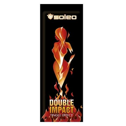 Soleo, Крем для загара Double Impact, 15 мл