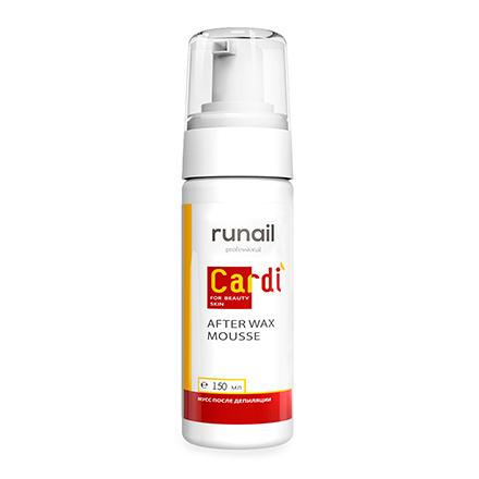 Купить RuNail, Мусс после депиляции Cardi, 150 мл