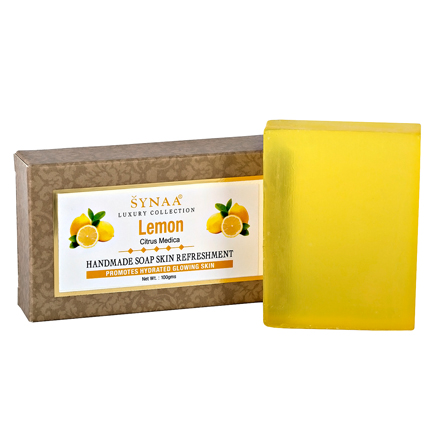 Купить Synaa, Мыло ручной работы «Лимон», 100 г