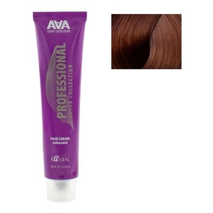 Kaaral, Крем-краска для волос AAA 6.43Краска для волос<br>Цвет: темный медно-золотистый блондин. Объем: 60 мл.