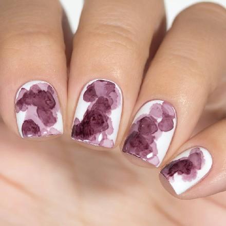Купить Masura, Акварельные капли для дизайна, фиолетово-пурпурный, Фиолетовый