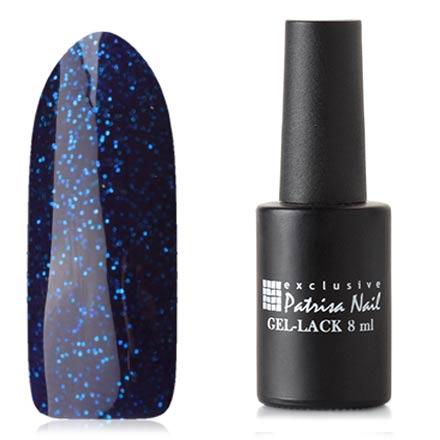 Patrisa Nail, Гель-лак «Две стихии» №R5Patrisa Nail трехфазный шеллак<br>Гель-лак (8 мл) сине-фиолетовый, с синими блестками, плотный.<br><br>Цвет: Фиолетовый<br>Объем мл: 8.00