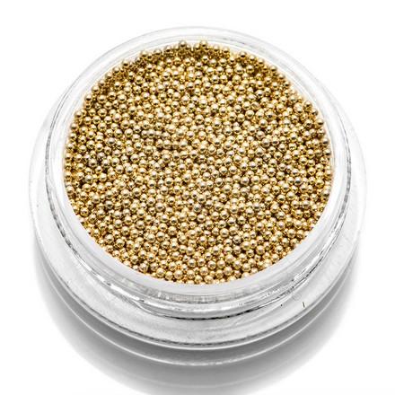 TNL, Бульонки металлические 0,8 мм (золото)