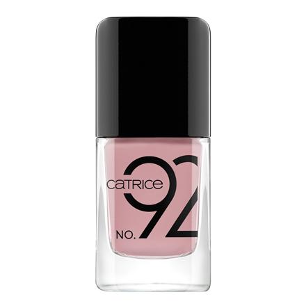 Купить CATRICE, Лак для ногтей ICONails №92, Nude Not Prude, Розовый