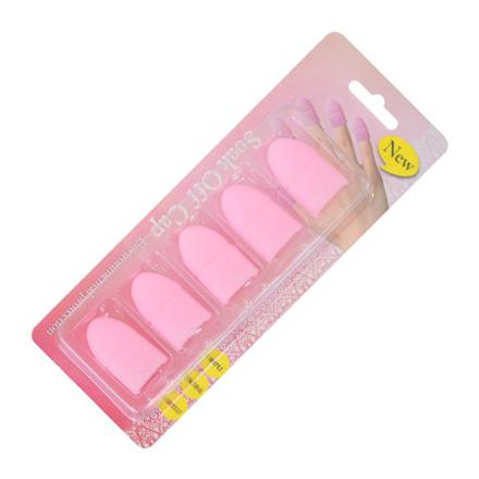 Patrisa Nail, Колпачки силиконовые для снятия искусственных покрытий, 5 шт.