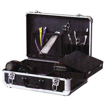 Купить Dewal, Чемодан для парикмахерских инструментов, черный 45х30, 5х16 см