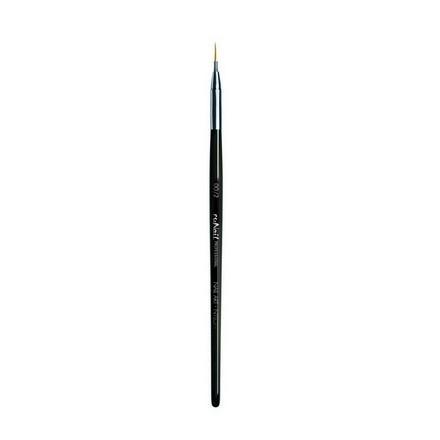 Купить RuNail, Кисть для дизайна Nail Art Nylon №00/2, 6 мм