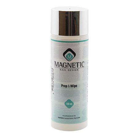 Magnetic, Клинсер для ногтей Prep & Wipe, 100 мл фото