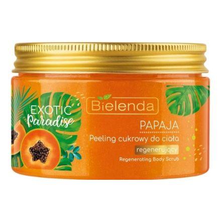 Фото - Bielenda, Скраб для тела Exotic Paradise Papaja, 350 г косметика для мамы bielenda exotic paradise сахарный скраб для тела увлажняющий дыня 350 г