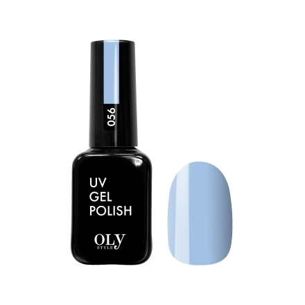 Купить Oly Style, Гель-лак №056, Синий