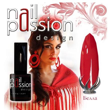 Купить Nail Passion, Гель-лак «Белла», Красный