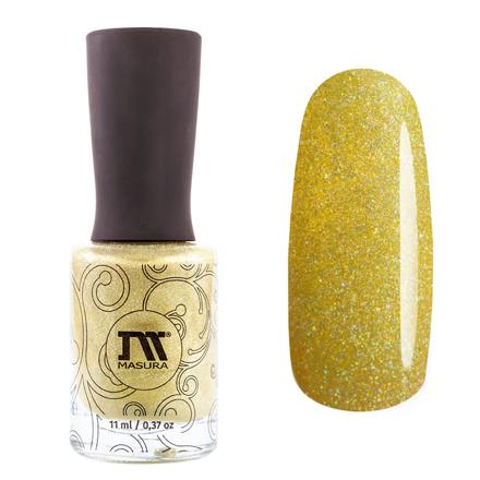 Купить Masura, Лак для ногтей «Золотая коллекция», Андалусия, 11 мл, Зеленый