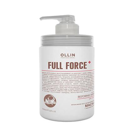 Купить OLLIN, Восстанавливающая маска Full Force, 650 мл, Ollin Professional