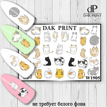Купить Dak Print, Слайдер-дизайн №1905