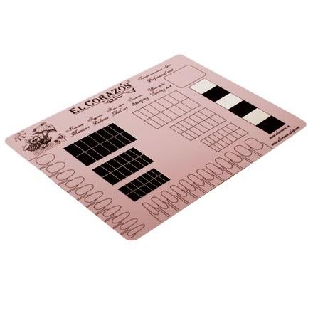 El Corazon, Коврик для дизайна № mat-24, розовый